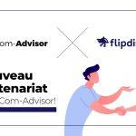 Com-Advisor signe un nouveau partenariat avec flipdish
